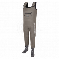 SPRO prsačky 4mm Neoprene Chest Wader PVC Boots vel. 40