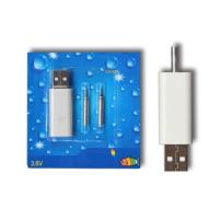 FLAJZAR - USB NABÍJEČKA A 2X BATERIE CR425 - 3V