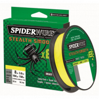 SPIDERWIRE - Šňůra Stealth smooth 8 - 0,06mm - 6,6kg - 150m - yellow