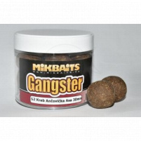 Mikbaits - Extra hard Boilie Gangster 300ml / 30mm - G2 Krab Ančovička Asa