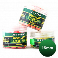 JET FISH - POP UP Boilie LEGEND RANGE 16mm - Biocrab