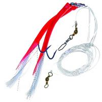 ICE fish - Trubička návazec červená vel : 8/0 - 2ks