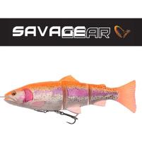 SAVAGE GEAR - Nástraha 4D Line thru trout 15cm / 35g - Golden Albino