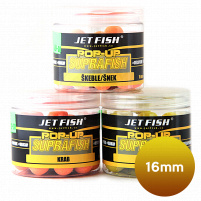 JET FISH - POP UP Boilie SUPRA FISH, 16mm - škeble/šnek