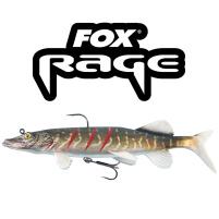Fox Rage - Nástraha Replicant pike 25cm / 155g - Wounded pike