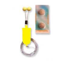 Bubeník - Číhátko bateriové odpadávací s provázkem žluté