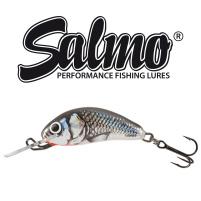 Salmo - Wobler Hornet sinking 3,5cm - Holographic Grey Shiner