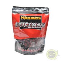 Mikbaits - Boilie Spiceman 1kg / 16mm - Pikantní Švestka