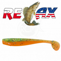 Relax - Gumová nástraha Kingshad 4 - Barva L095 - sáček 4ks - 10cm