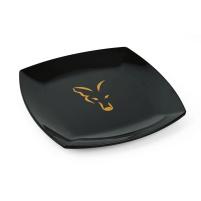 FOX - Talíř černý plastový fox Plates 1 ks