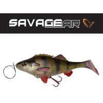 SAVAGE GEAR - Nástraha 4D Perch shad 17,5cm / 67g - Perch