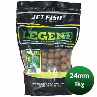 JET FISH - Boilie Legend 24mm 1kg - Biosquid + A.C. Biosquid