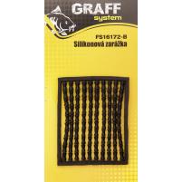 GRAFF - Zarážky silikonová - černá