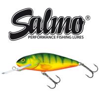 Salmo - Wobler Perch deep runner 8cm - Hot Perch