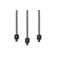 "Cygnet Cygnet Řetízek černý 7,5 cm - Clinga Chains + Black Chain Black Ends 3"""