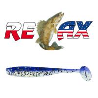 Relax - Gumová nástraha Bass 3 - Barva L630 - blister 4ks - 8,5cm