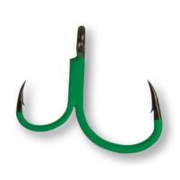 MADCAT - Jednoháček+pomocný A-Static deadbait gripper hook vel. 6/0