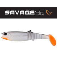 SAVAGE GEAR - Umělá nástraha - Cannibal Shad 12,5cm / 20g - White and Black