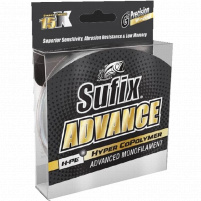 SUFIX - Vlasec Advance 0,16mm, 2,9kg / 150m - Clear