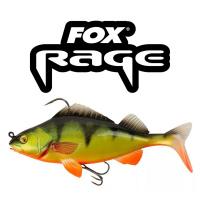 Fox Rage - Nástraha Replicant perch 18cm / 85g - Hot perch