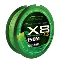 SHIRO - Spletaná šňůra SHIRO X8 - Zelená - 150m