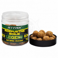 JET FISH - Rozpustné boilies LR 24mm 250ml - Protein bird + multifruit