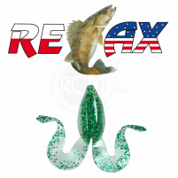 Relax - Gumová nástraha Banjo Frog 3 - blister 2ks - 9cm