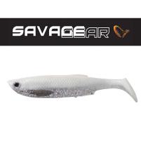 SAVAGE GEAR - Umělá nástraha - Bleak paddle tail 10cm - 8g - White silver