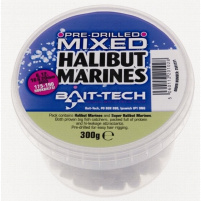 Bait-Tech Mix pelet Pre-Drilled Mixed Halibut Marine Hookers 300g