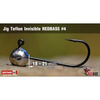 Red Bass - Jig koule Teflon invisible 4
