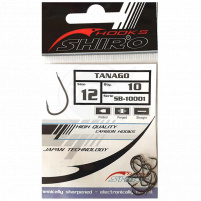 SHIRO - Háčky Tanago s lopatkou - 10ks - vel.2