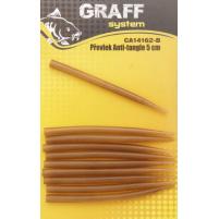 GRAFF - Převlek Anti-tangle 5cm, hnědá