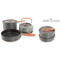 FOX - Sada 2x hrnec + pánvička + konvice Cookware med 4-piece medium cookset