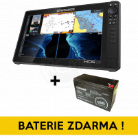 Lowrance - Echolot HDS-16 LIVE with Active Imaging 3-in-1 (ROW) + Baterie ZDARMA !