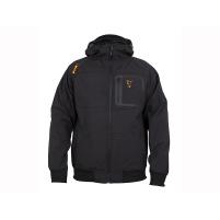 FOX - Bunda Black/orange shell hoodie