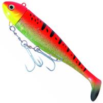 ICE Fish - Gumová nástraha MOBY červeno/zlatá 630g