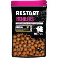 LK Baits ReStart Boilies Ice Vanilla  18 mm, 250g