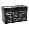 GOOWEI ENERGY - Akumulátor bezúdržbový OT7-12L, 12V, 7Ah, konektor F2