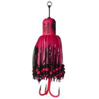 MADCAT - Sumcová chobotnička A-static Clonk Teaser s trojháčkem 100g - fluo pink UV