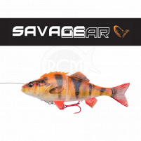 SAVAGE GEAR - Nástraha 4D Line thru perch 17cm / 63g - Albino