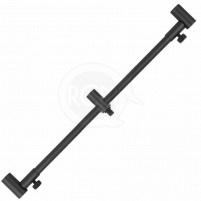 Strategy - Hrazda Buzzer Bar Black Alu 3 Rods Tele 38-55cm