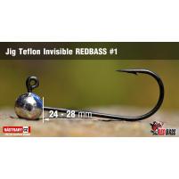 Red Bass - Jig koule Teflon invisible 1
