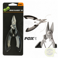 Fox - Nůžky Carp Braid Blade XS