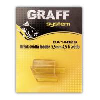 GRAFF - Držák světla feeder 5,2mm / 4,5 - 6 světlo