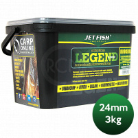 JET FISH - Boilie LEGEND 3kg / 24mm Chilli tuna + A.C. chilli