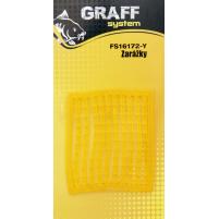GRAFF - Zarážky silikonová - žlutá