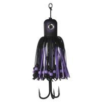 MADCAT - Sumcová chobotnička A-static Clonk Teaser s trojháčkem 100g - black devil