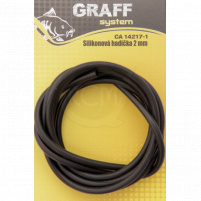 GRAFF -Silikonová hadička, 1,5mm, černá