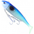 ICE Fish - Gumová nástraha MOBY modro/šedá 630g