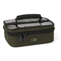 FOX - Pouzdro R Series + 8ks kelímků Hookbaits bag
